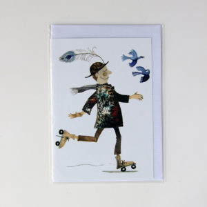 Alida Bothma Card Rollerscater