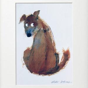 Alida Bothma Print Dog frame 2