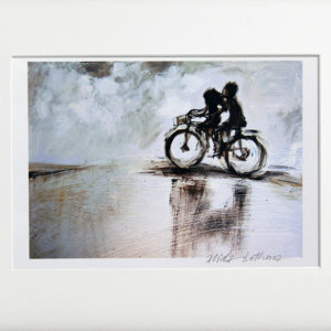 Alida Bothma Riding Bicycle Print frame 2