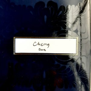 Von Geusau Chocolate label cherry