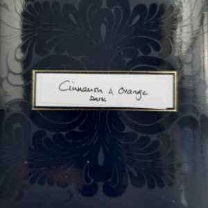 Von Geusau Chocolate label cinnamon orange