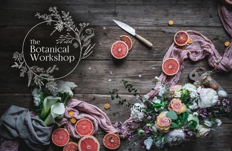 botanical workshop banner