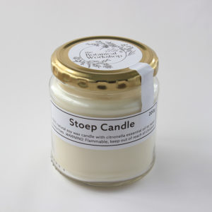 botanical workshop stoep candle