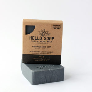hello soap charcoal teatree