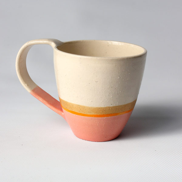 eve art short ceramic coffee cup