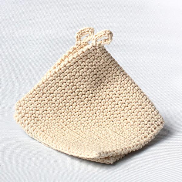oloyolo crochet pot holders cream
