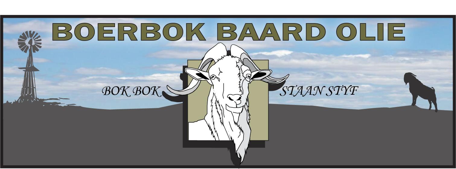 Boerbok Baard Olie