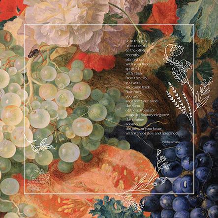 Botanical Workshop Picnic Blanket Neruda