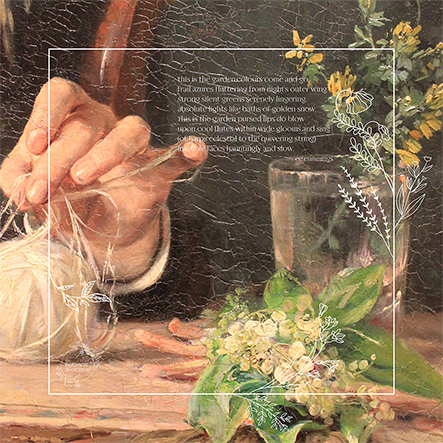 Botanical Workshop Picnic Blanket cummings