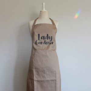 Botanical Workshop lady gardener apron