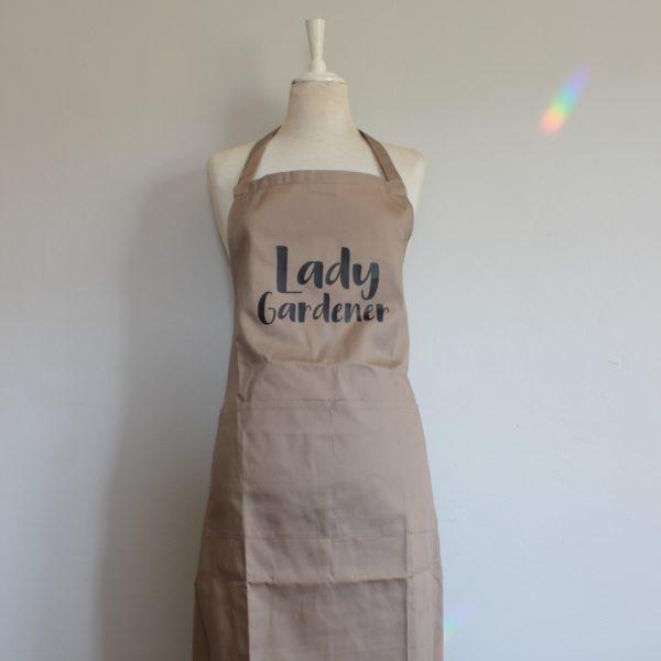 Botanical Workshop lady gardener apron