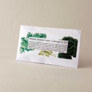 Botanical Workshop seed pack pic winter greens
