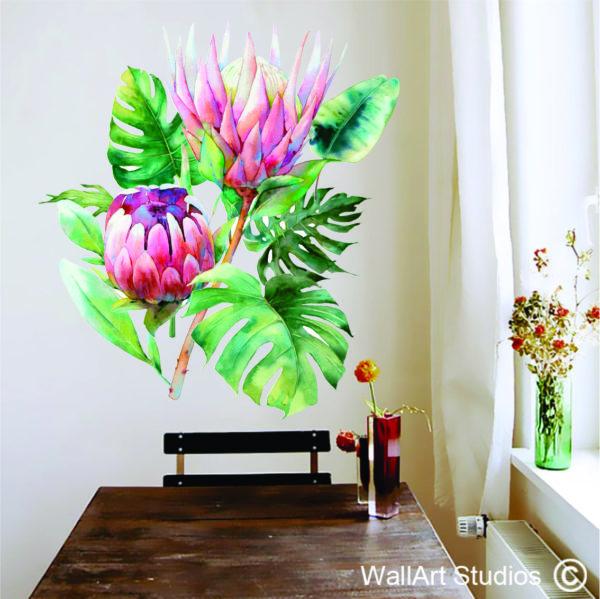 Protea decal