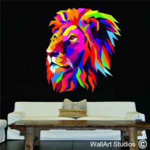 wallart studios lion decal