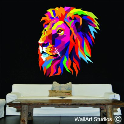 wallart studios lion decal