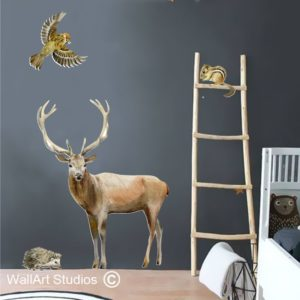 wall art studios forest animal wall decal